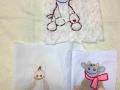 Dibujos bordados para bebés